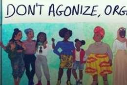 """كاريكاتير يدافع عن قضايا """"النساء السود"""""""