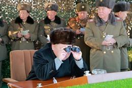 زعيم كورياالشمالية