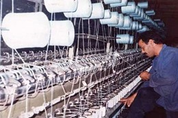 صناعة الغزل والنسج