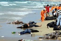 غرق 250 شخصا بعد تحطم قاربهم في المتوسط
