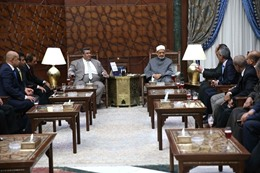 زيارة أعضاء البرلمان لشيخ الأزهر