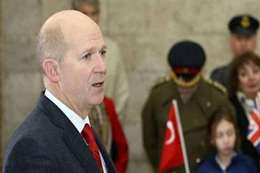 السفير البريطاني بتركيا