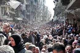 تهجير أهالي سوريا - أرشيفية