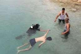 غرق طلاب