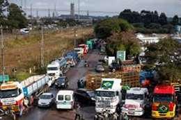 إضراب سائقي الشاحنات بالبرازيل