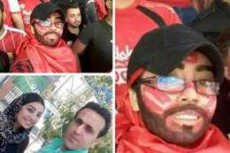 إيرانيات يتنكرن في هيئة رجال لحضور مباراة كرة قدم