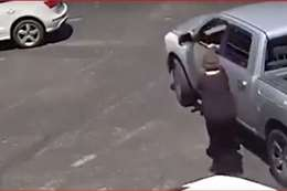 صورة من مقطع الفيديو