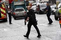 تبادل لإطلاق النار بين الشرطة البريطانية ومسلح (أرشيفية)