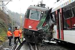 حادث تصادم قطارين (أرشيفية)