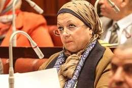 النائبة ماجدة نصر ، عضو مجلس النواب بلجنة التعليم و البحث العلمى