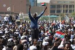المتظاهرين في السودان