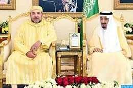 خادم الحرمين وملك المغرب