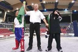 الملاكمة السعودية دُنا محمد الغامدي