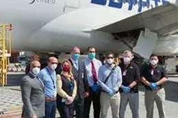 استقبال  332 مصريا من العالقين فى كندا بمطار مرسى علم