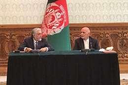 الرئيس الأفغاني ورئيس الوزراء السابق