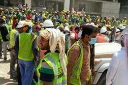 عمال بشركة بن لادن السعودية