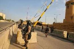 الهجوم الـ 28.. سقوط صاروخ بمحيط السفارة الأمريكية
