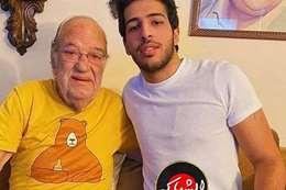 حفيد محمود ياسين وحسن حسني