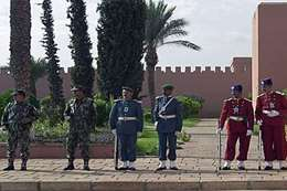 الحرس الملكي المغربي