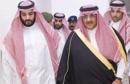 بالفيديو.. بدء بيعة بن نايف وبن سلمان فى قصر الحكم