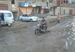هطول أمطار وهبوب رياح بكفر الشيخ