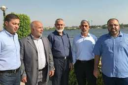 وفد حماس بالقاهرة