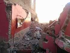 شاهد بالصور..مصرع فتاة في انهيار منزل بأسيوط