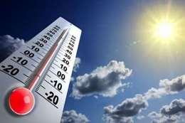 ارتفاع كبير بدرجات الحرارة اليوم
