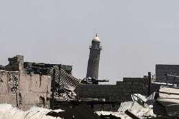 داعش يفجر مسجد النوري ومئذنة الحدباء بالموصل