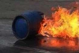 انفجار اسطوانة غاز
