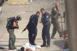 استشهاد شاب فلسطيني بالخليل