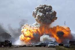 انفجار ضخم يهز مدينة شيراز الإيرانية