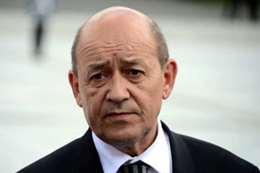 جان إيف لو دريان وزير الخارجية الفرنسي