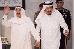 أمير الكويت يغادر السعودية