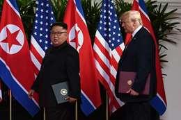 ترامب وكيم يونغ