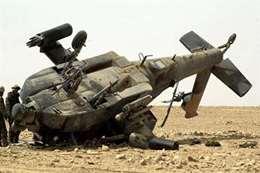 تحطم طائرة عسكرية (أرشيفية)