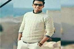 الشاب أحمد حمدي حسن، لاعب كرة القدم بنادي الإسكندرية للبترول