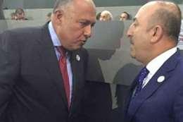 وزير خارجية مصر ونظيره التركى