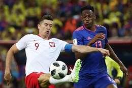 كولومبيا وبولندا