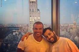 عمرو دياب وتركي آل الشيخ