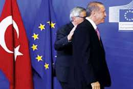 الاتحاد الاوربي وتركيا