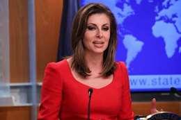 المتحدثة باسم وزارة الخارجية الأمريكية، مورغان أورتاغوس
