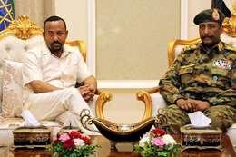 مبعزث أثيوبيا والمجلس العسكري السوداني