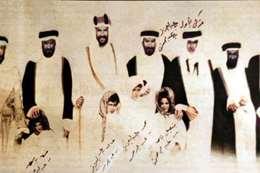 منذ 114 عاما.. صورة نادرة للملك عبدالعزيز مع أبنائه