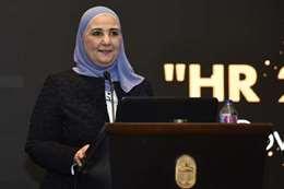 وزيرة التضامن الاجتماعي نفين القباج
