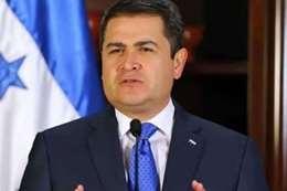خوان أورلاندو هيرنانديز  رئيس دولة هندوراس الأمريكية
