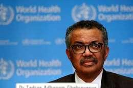 المدير العام لمنظمة الصحة العالمية، تيدروس أدهانوم جيبريسوس