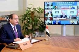 """السيسي يناقش أزمة سد النهضة في قمة مصغرة بحضور """"آبي أحمد"""""""