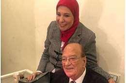 ماجدة حميدة، زوجة الفنان الراحل حسن حسني