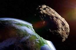 كويكب ضخم يقترب من الأرض